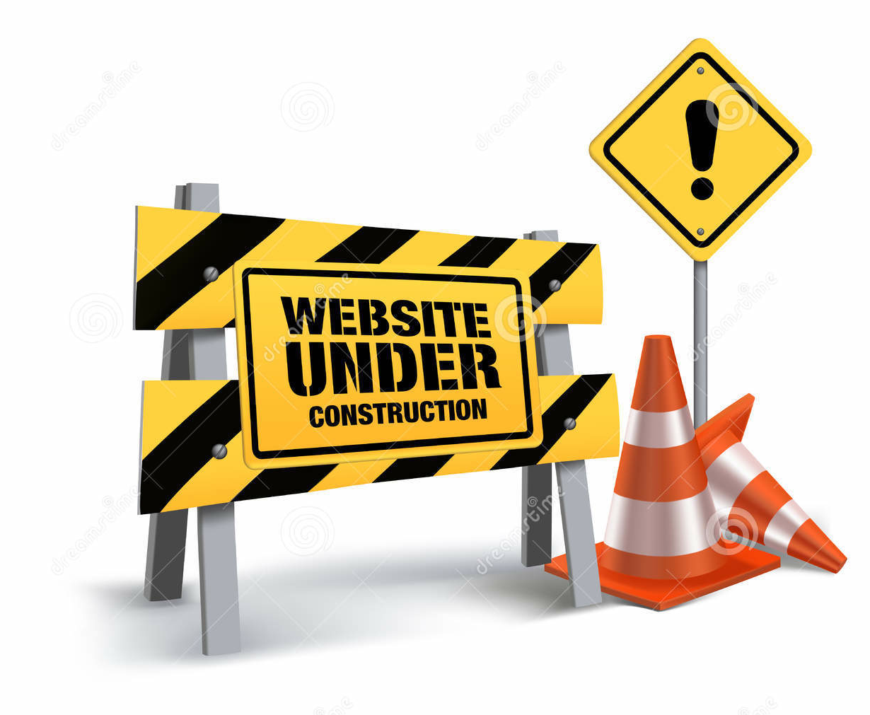 web under construction image