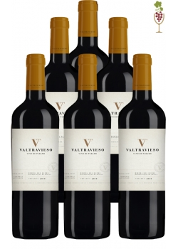 Box Red Wine Valtravieso Crianza