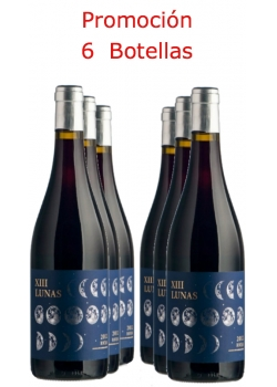 Lot Red wine XIII Lunas / 6