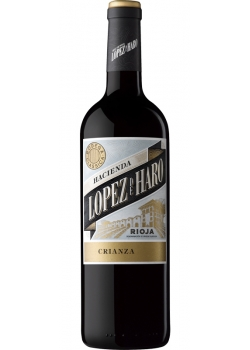 Red wine Hacienda Lopez de Haro Crianza